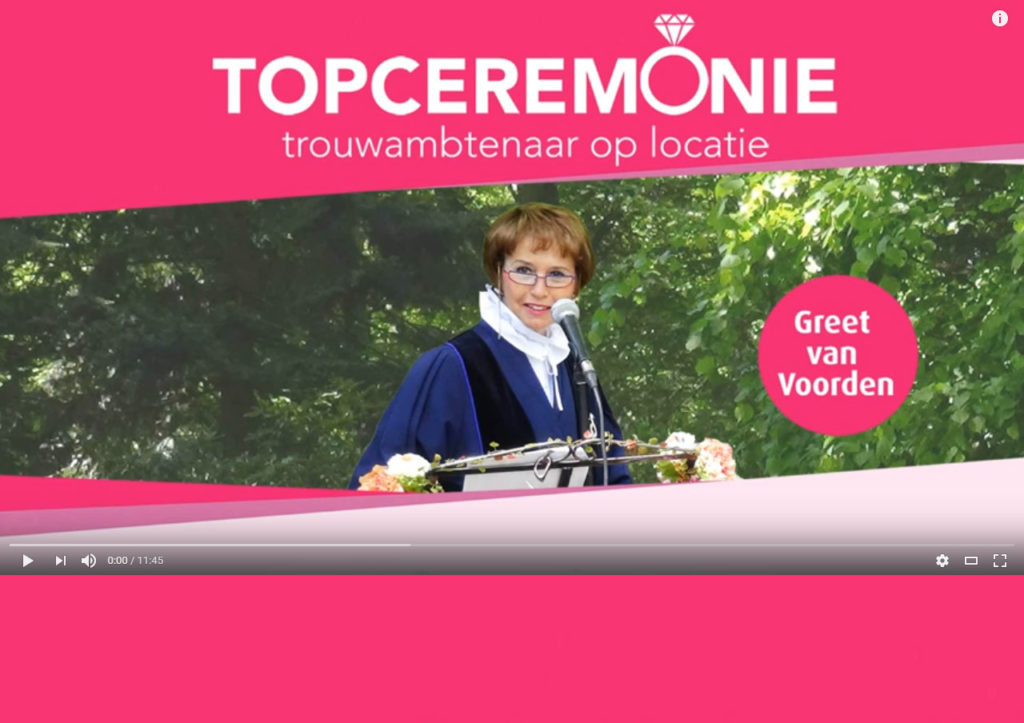 Video Topceremonie 2016