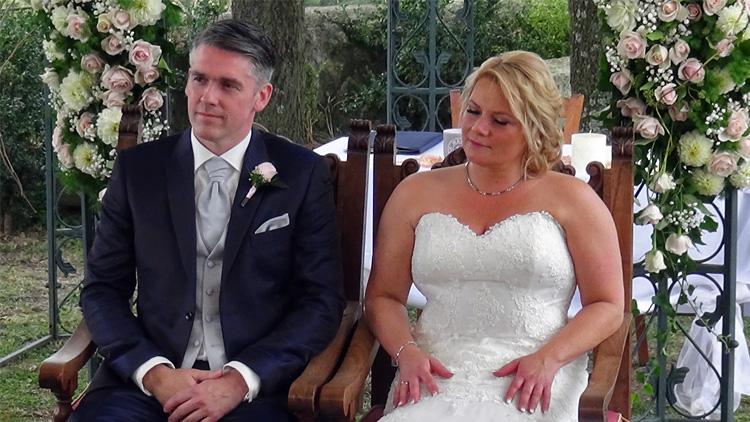 Bruiloft Monique en Rico, Borgo di Tragliata, Italië
